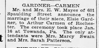Sarah Patterson aka Sadie Carman - Newspapers.com