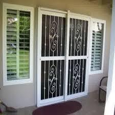 burglar bars for sliding glass doors