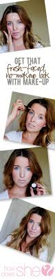 Get that fresh-faced, no-makeup look… With make-up. | Makeup looks, Fresh  face, Hair beauty