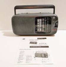 General Electric Portable Multi Band Radio AM FM Weather TV Sound Model  7-2948A #GE ..... Visit all of our online locations ....… | Tv sound, Ebay,  General electric