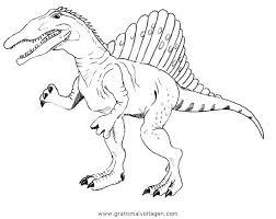Spinosaurus Ausmalbilder Ausmalbilder Spinosaurus Dinosaurs Quit