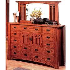 craftsman furniture. Quarter Sawn Oak Mission Craftsman Deluxe Dresser Furniture