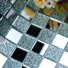 wall tiles backsplash wholesale mirror tile squares blue bathroom mirrored  wall tile mirror mosaic wall tiles