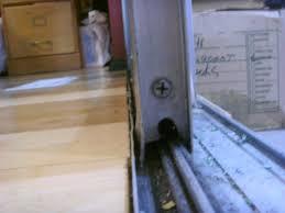 how to repair sliding glass door rollers dengarden