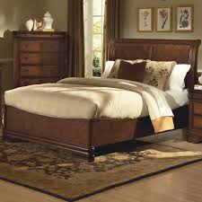 Bedroom: Slay Bed Frame | Ethan Allen Sleigh Bed | Sleigh Beds King Size