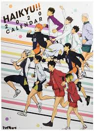 What anime are you looking forward to the most in 2019? Haikyu 2020 Try X Official Wall Calendar Japan Anime 4970381212407 Amazon Com Books