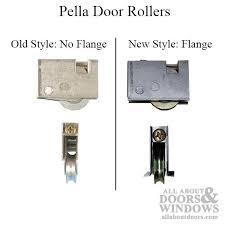 pella generic patio door roller assembly 1 1 2 steel ball bearing