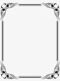stencil borders for paper borders and frames frame black and white frame borders