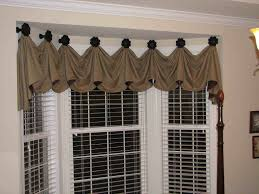 Kitchen Bay Window Treatment Kitchen Window Curtain Ideas Kitchen Window Treatments On