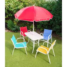 Childrens Outdoor Furniture With Umbrella  SimplylushlivingChildrens Outdoor Furniture With Umbrella