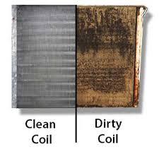 lennox evaporator coil. why clean coils air conditioner coil? dirty_coil_clean_coil_300 lennox evaporator coil l