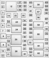 cadillac ats fuse box diagram auto genius cadillac ats 2012 2013 fuse box diagram