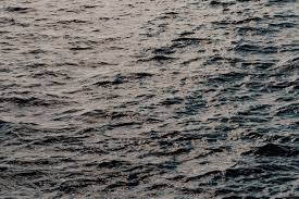 View At Sea Waves Nature Moody Water Background