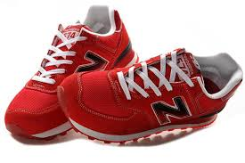 new balance shoes red. new balance nb ml574sno fire red white for women shoes t