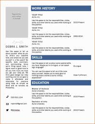 Functional Resume Template Resume Format Free Download In Ms Word