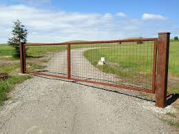 farm fence gate.  Gate Farm Land Iron Gates And Fencing Intended Fence Gate A