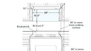 Over The Range Microwave Dimensions Under Cabinet Inside Plan 8    U66