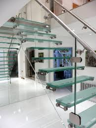 What a powerful staircase can do for you home glass staircase centrepiece