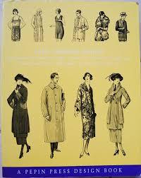 Vintage Illustrations 1920s Fashion Illustration Book Vintage Gal