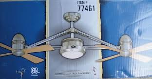 harbor breeze dual ceiling fan pertaining to awesome household inspirations 1
