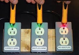 failures in outlet testing exposed electrical construction 3 Outlet Grounded Wire a simple non contact voltage tester will beep or light up inches away from the face of an outlet that has been miswired in a reverse polarity bootleg ground 3 wire grounded ac outlet