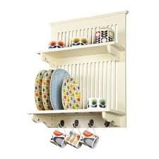 Small Picture Buy Aston Kitchen Plate Rack Buttermilk wall mounted at