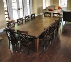 rustic dining room table seats 10 designs
