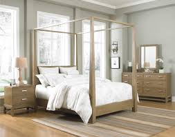 White And Walnut Bedroom Furniture King Size Canopy Bed King Size Bedroom Furniture Sets Raya