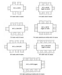 Dining Tables Awesome Dining Table Sizes Dining Table Size Guide