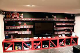 Video gaming room furniture Rec Room Gamers Furniture Video Gaming Room Furniture Modest On In When Decorate Awesome Game Rooms Farmers Dhoummco Gamers Furniture Video Gaming Room Furniture Modest On In When