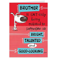 Funny Brother Quotes Magnificent Birthday Wishes For Brother 48 Funniest Happy Birthday Wishes [48]