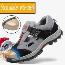 <b>Fashion Cool</b> Labor <b>Shoes Sandals Men's Summer</b> Work Safety ...