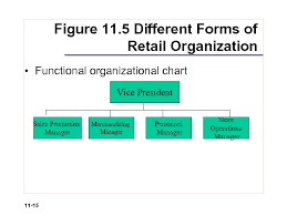 Retail Store Org Chart Chapter 11 Retail Organization And Human Resource Management