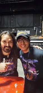 Mario Baldwin con Aquiles Priester - DragonForce México   Facebook