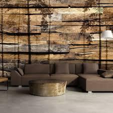 Vlies Fototapete 3 Farben Zur Auswahl Tapeten Baum Holz