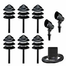 electric landscape lighting sets. inspired landscape lighting kits thediapercake home trend pertaining to attractive residence light remodel electric sets s