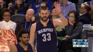 Marc Gasol vs Warriors (6 - 1 - 2017 ...