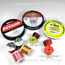 Fireline Diameter Chart Marion Jewels In Fiber News And Such Beading Thread