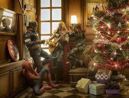 Spiderman Christmas Lights Comics Avengers The Avengers Christmas Christmas Tree Gift