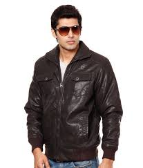 fort collins classy coffee brown leather jacket