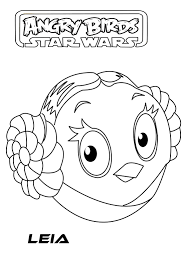 40 Coloring Pages Angry Birds Star Wars Go Starwars Colouring