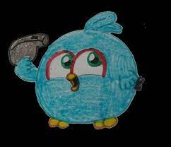 Blue with whistle by ANGRYBIRDSTIFF on DeviantArt