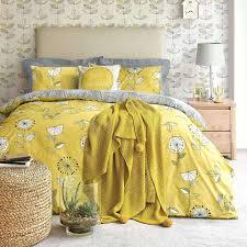 elements sunflower yellow duvet cover and pillowcase set dunelm mustard yellow linen duvet cover mustard yellow