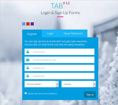 Sign Up Form Html Template 20 Html5 Signup Registration Forms Html Css Free