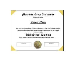 University Graduation Certificate Template Free Diploma Template