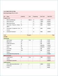 Business Budget Template Excel Free | Spartagen.org