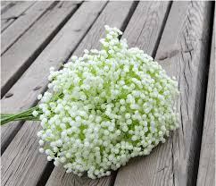 2018 2016 beautiful gypsophila baby s breath artificial fake silk flowers plant home wedding party decoration dhl free from emaker 0 52 dhgate