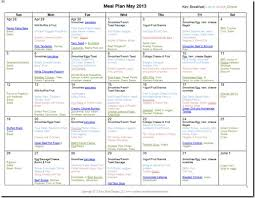 monthly meal planner template may 2013 monthly meal plan recipes confessions of a homeschooler