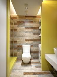Reclaimed Wood Bathroom Wall