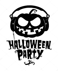 Pompoen Van Halloween Party Stockvector Slena 27591021